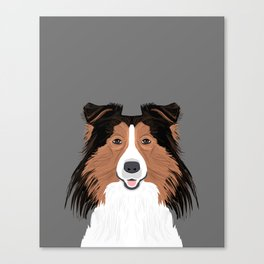 Jordan - Shetland Sheep Dog gifts for sheltie owners and dog people gift ideas perfect dog gifts Canvas Print