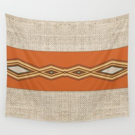 Southwestern Earth Tone Texture Design Wall Tapestry