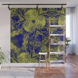 KALEIDOSCOPE - YELLOW Wall Mural