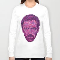 house md Long Sleeve T-shirts featuring House by Wink