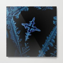 Cross of Salt Metal Print
