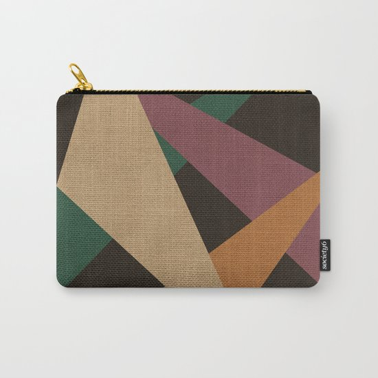GEOMETRIC ABSTRACT 2 Carry-All Pouch
