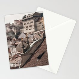 Prague Rooftop 05 Stationery Cards