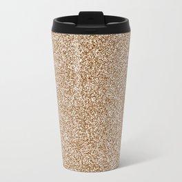 Melange - White and Chocolate Brown Travel Mug