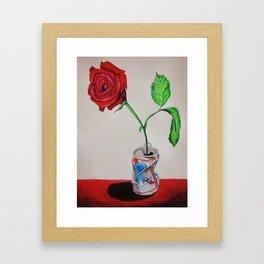 PBRose Framed Art Print