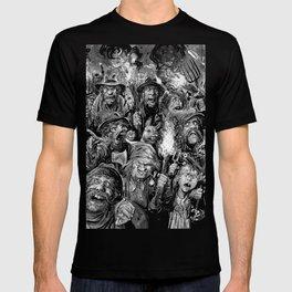 Frankenstein Villagers T-shirt