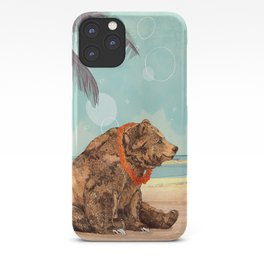 Beach Bear iPhone Case