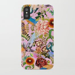 SUMMER BOTANICAL IX iPhone Case