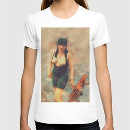 Vintage Nude by Mary Bassett T-shirt