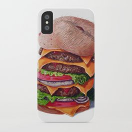 Belly Burger iPhone Case