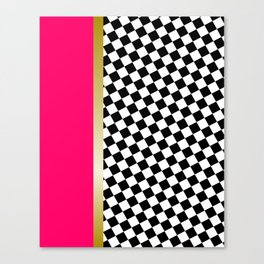 grrls square Canvas Print