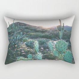 Arizona Cactus Rectangular Pillow