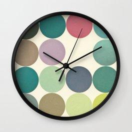 Circles I Wall Clock