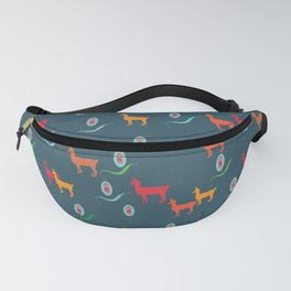 llama and poodle Fanny Pack