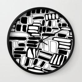 Block Wall Clock