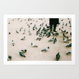 Bird Man - film Art Print