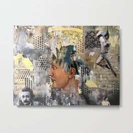 Random Thoughts and Explorations of the Psyche Metal Print