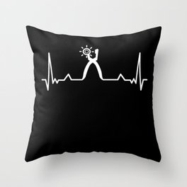 Shoe maker Cordwainer Heartbeat Gift Throw Pillow