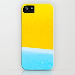 Sea & Sand Watercolor painting Abstract iPhone Case
