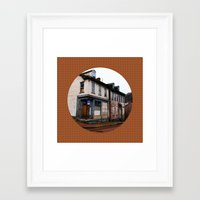 pittsburgh Framed Art Prints featuring pittsburgh by worricow