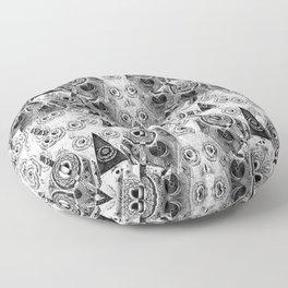 Triangulum Nigrum ad Mortem Floor Pillow