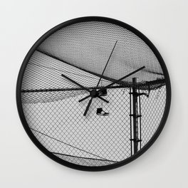 Hanging Sneakers Wall Clock