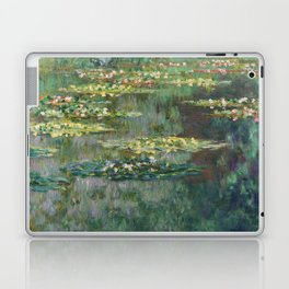 Water Lilies 1904 by Claude Monet Laptop & iPad Skin
