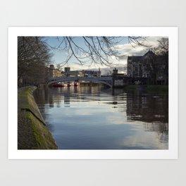 Lendal Bridge, York Art Print