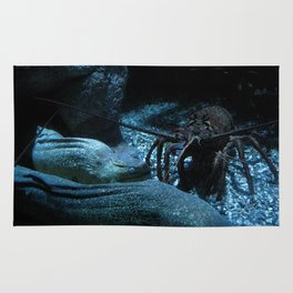 Lobster and the Eels Rug