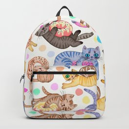 Sprinkles on Donuts and Whiskers on Kittens Backpack