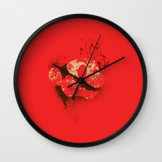 The Red Knight (Red Version) Wall Clock