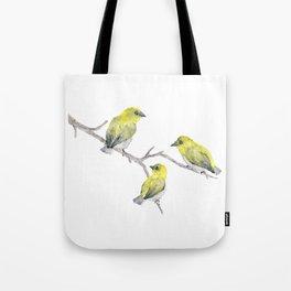 Finch Bird Tote Bag