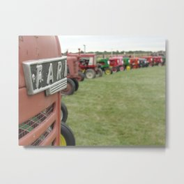 All Lined Up Metal Print