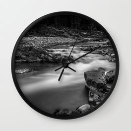 River line Wall Clock