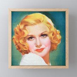 Film Noir Framed Mini Art Print