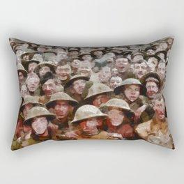 Ghosts of War Rectangular Pillow