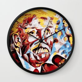 The Leader of the Free World is a Monster Wall Clock
