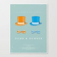 Dress The Part - Dumb & Dumber Canvas Print