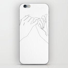 Pinky Swear iPhone Skin