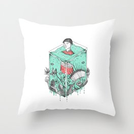 Earth Soup Throw Pillow