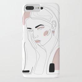 In Blush iPhone Case
