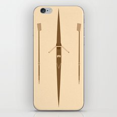 rowing single scull iPhone & iPod Skin