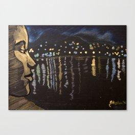 Chill... Lagoon Canvas Print