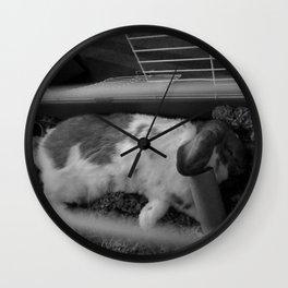 SLEEPING KEVIN Wall Clock