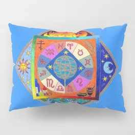 Blue Prophecy Pillow Sham