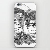 danisnotonfire iPhone & iPod Skins featuring Danisnotonfire & AmazingPhil  by xzwillingex