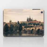 prague iPad Cases featuring Prague by maisie ong