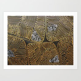 Mitochondrial Membranes Art Print