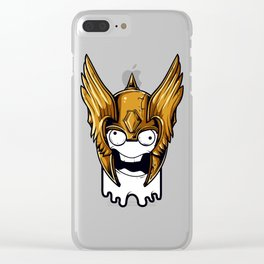 Whoa Viking Scary Clear iPhone Case