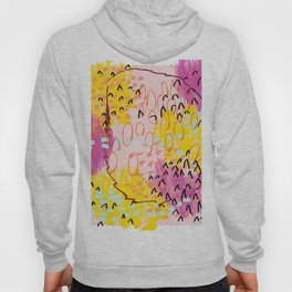 Abstract Spring Pattern Number One Hoody